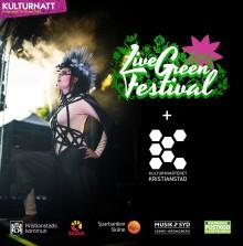 Unik hållbarhetssatsning under Kulturnatt Kristianstad: LiveGreen Festival startar i Kristianstad