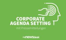 Corporate Agenda Setting mit Pressemitteilungen