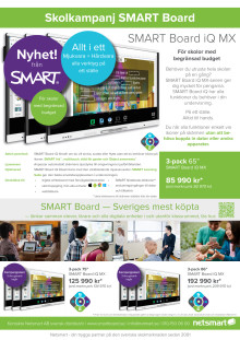 Kampanjblad SMART Board iQ MX