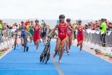Triathleter visade formen inför OS när Europacupen i Malmö avgjordes