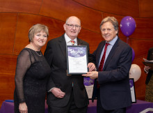 Bath stroke survivor receives regional recognition