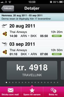 Momondos app för iPhone- nu på svenska