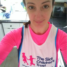 Devoted Mum prepares to take on 100km challenge for The Sick Children's Trust