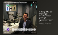 Gerald Leo: Helping SMEs transform through his broadcast interview