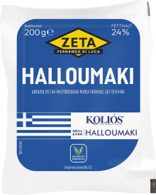 Zeta Halloumaki – perfekt ost på grillen