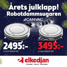 Årets Julklapp robotdammsugaren finns hos Elkedjan