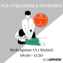 HLR-utbildning för privatpersoner 6 november