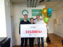 ​The 2016 Stockholm Acceleration Scholarship is awarded to Buildsafe