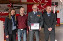 Falck i Randers får CSR-certifikat for arbejde med udsatte unge