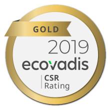 Guld från EcoVadis för Linde Material Handlings hållbarhetsarbete