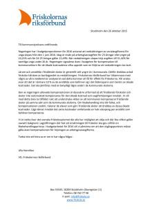 Öppet brev om kompensation för höjd arbetsgivaravgift för unga
