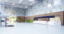 Abstractas Airflake skapar ro i konferenscentret Bella Center