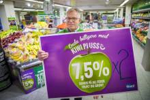 KIWI dobler bonusen på frukt og grønt