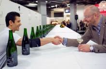 Världsrekord i sabrering sattes på helgens Göteborg Vin & Deli på Svenska Mässan