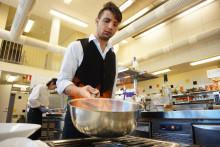 Okonventionell meny när Årets kock och restaurangelever bjuder till bords