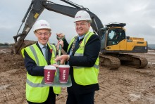 Costa Managing Director kicks off construction of Basildon roastery