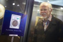 Världens dyraste mynt samt USA:s självständighetsdeklaration ställs ut i Kungliga Myntkabinettet