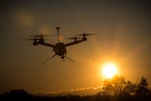Testbädd för miljöövervakning med UAV