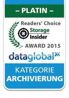 bpi solutions Partnerunternehmen dataglobal gewinnt den IT-Award 2015 in Platin für Archivierung mit hyparchive
