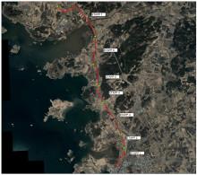 GPA levererade till den nya avloppsledningen mellan Bua och Varberg