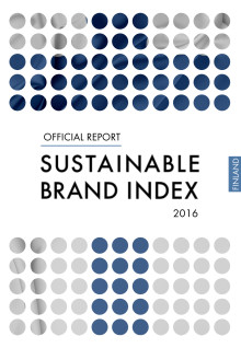 Sustainable Brand Index 2016 - Official Report Finland