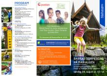 Program for Barnas sommerdag 2016