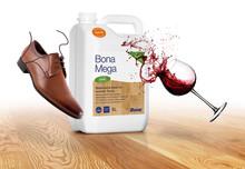 Bona Mega – Ny, förbättrad formulering som ger överlägset skydd mot kemikalier, spill och klackmärken