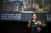 PLÅTPRISET 2018 till White arkitekter för Humanistiska teatern