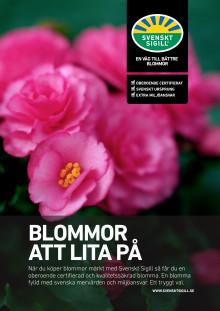 Konsumentflyer Svenskt Sigillmärkta blommor