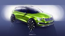ŠKODA på bilsalongen Genève 2018: En glimt rakt in i framtiden med innovativ hybridteknik