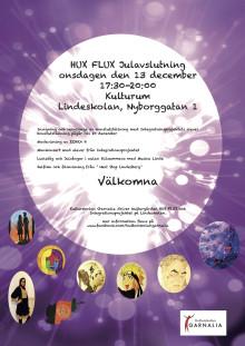Kulturgården Hux Flux bjuder in till julavslutning