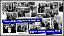 SWINX visar senaste nyheterna på Ekonomi & Företagsmässan..!