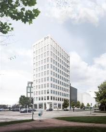 Pressinbjudan: Första spadtaget för kontorshus och parkeringshus på Drottninghög