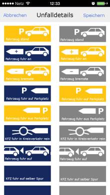 Clevere Lösung für Autofahrer: Bei Kfz-Unfall App statt Schadens-Hotline