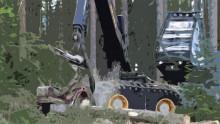 Förarstöd krävs för att låsa upp skogsmaskinernas potential