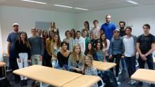 Dritter Jahrgang im Osteopathie-Studium in München