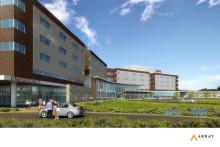 Skanska bygger sjukhus i New Jersey, USA, för cirka 1,7 miljarder kronor