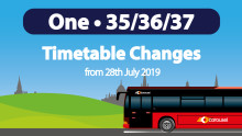 Service Changes July 2019