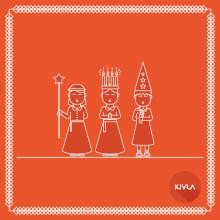 Glad Lucia önskar vi på Kivra!
