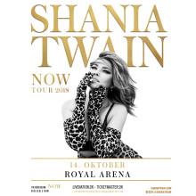 Shania Twain endelig til Danmark! Royal Arena 14. oktober 2018