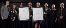 Internetstiftelsen och MTR Tunnelbanan tilldelades för andra gången Utmärkelsen Svensk Kvalitet