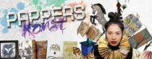 Papperskonst - sommarens stora utställning på Frövifors Pappersbruksmuseum