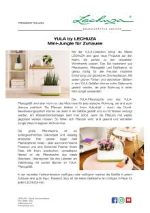 YULA by LECHUZA - Mini-Jungle für Zuhause