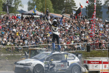 Publikrekord på Swecon World RX of Sweden i Höljes