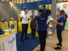 Tapflo new TC Intelligent pump awarded at PPMA Show 2017