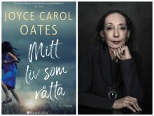 """Joyce Carol Oates nya hyllade roman """"Mitt liv som råtta"""" släpps fredag 11 oktober"""