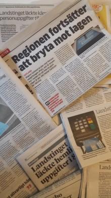 Regionerna Gotland och Kronoberg lovar sluta bryta mot lagen