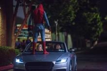 Ny Audi A8 får debut i  'Spider-Man: Homecoming'