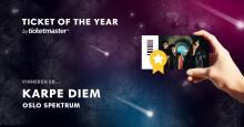 Karpe Diem kåret til Norges Ticket of the year 2017