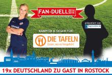 Deutschland zu Gast in Rostock - Das Kurzurlaub.de Fan-Duell